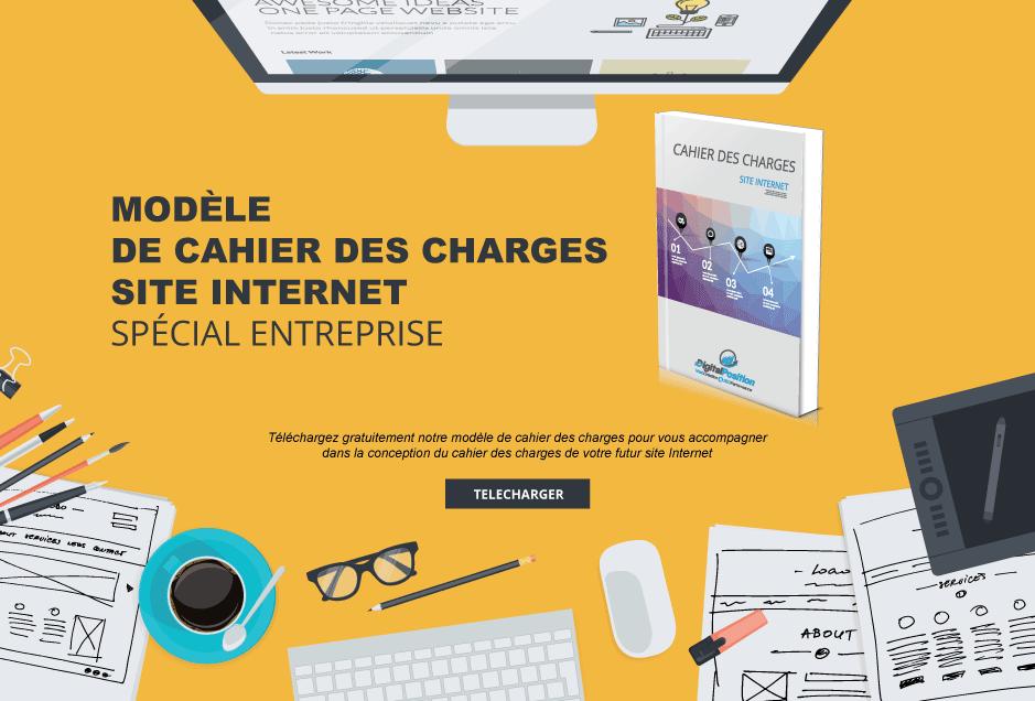 Modele De Cahier Des Charges Creation D Un Site Internet D Entreprise